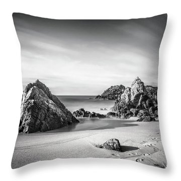 Land Of Tides Throw Pillow
