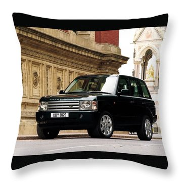 Land Rover Throw Pillow