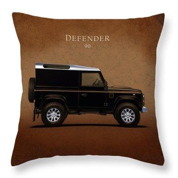 Land Rover Defender 90 Throw Pillow