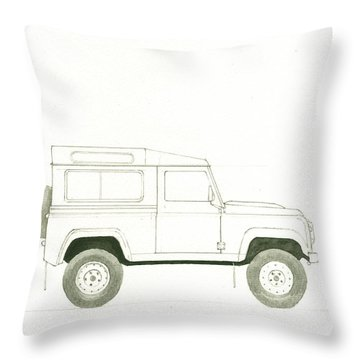 Land Throw Pillows