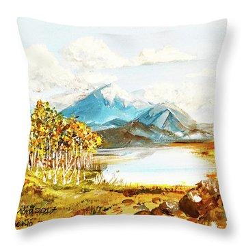 Land Scape No.-3 Throw Pillow