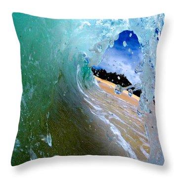 Landlocked  Throw Pillow