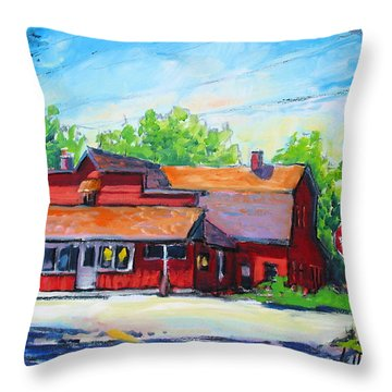 Landmark Six Throw Pillow