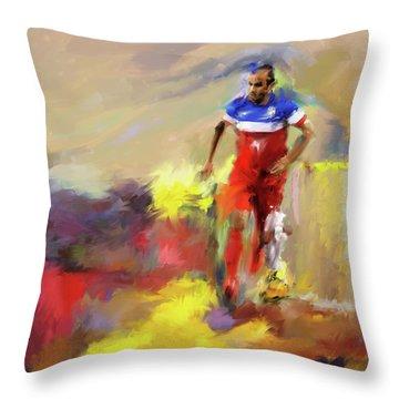 Landon Donovan 545 1 Throw Pillow