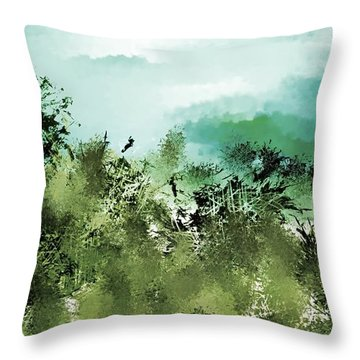 Landscape 092817 Throw Pillow