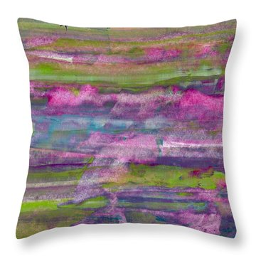 I Dream In Color... Throw Pillow