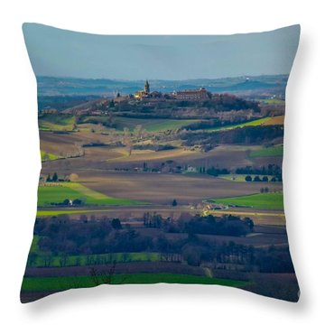 Landscape 2 Throw Pillow by Jean Bernard Roussilhe
