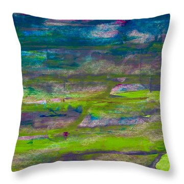 Waltzing With The Butterflies  Throw Pillow