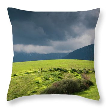 Landscape Aspromonte Throw Pillow
