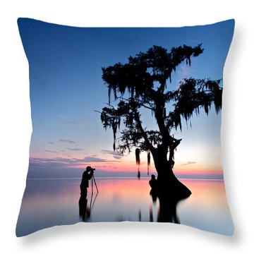Landscape Backstage Throw Pillow