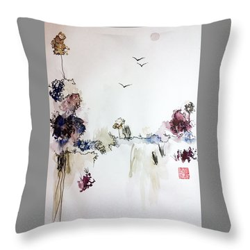 Landscape Dreams Throw Pillow
