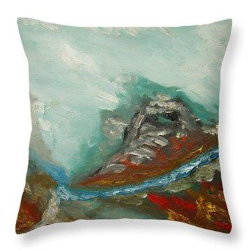 Landscape. Fantasy 19-2. Throw Pillow