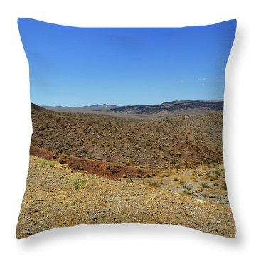 Landscape Of Arizona Throw Pillow by RicardMN Photography