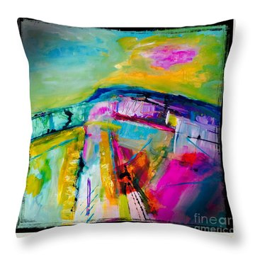 Landscape Of My Soul  Throw Pillow
