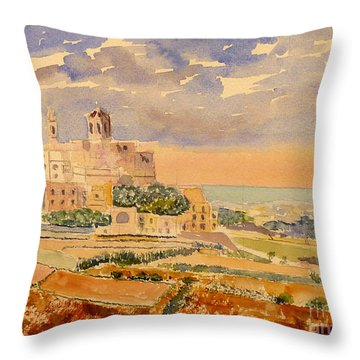 landscape Rabat Throw Pillow