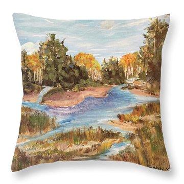 Landscape_1 Throw Pillow