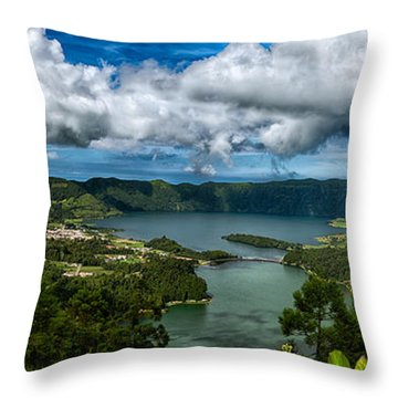 Landscapespanoramas015 Throw Pillow