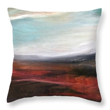 Landslide Throw Pillow