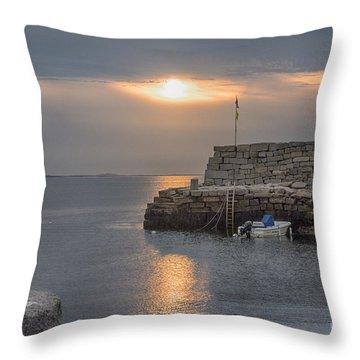 Lanesville Sunset Throw Pillow