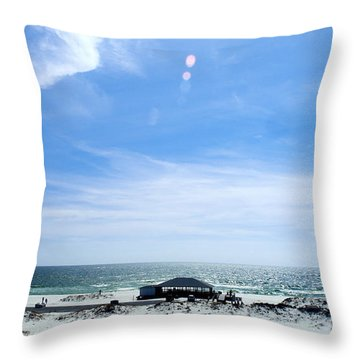 Langdon Beach Throw Pillow