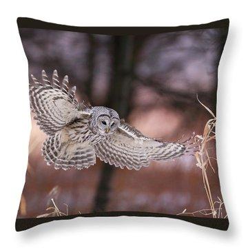 L'ange De La Mort Throw Pillow