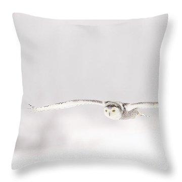 L'ange Des Cieux Throw Pillow