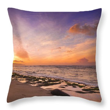 Laniakea Sunset Throw Pillow