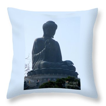 Throw Pillow featuring the photograph Lantau Island 49 by Randall Weidner