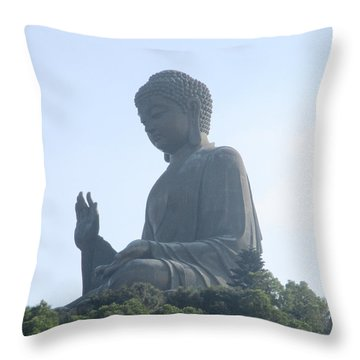 Throw Pillow featuring the photograph Lantau Island 50 by Randall Weidner