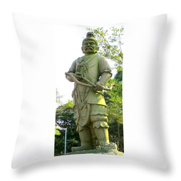 Throw Pillow featuring the photograph Lantau Island 52 by Randall Weidner