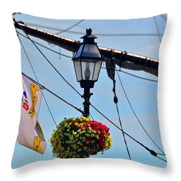 Lantern Of The Sea Throw Pillow