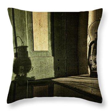 Lantern Shadow Throw Pillow by Sari Sauls