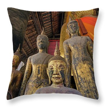 Laos_d186 Throw Pillow