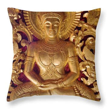 Throw Pillow featuring the photograph Laos_d264 by Craig Lovell