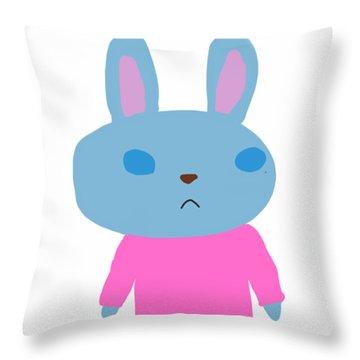 Lapin-kun Throw Pillow
