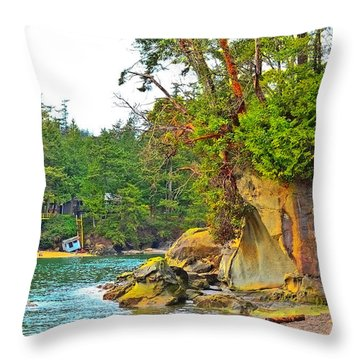 Larabee Throw Pillow