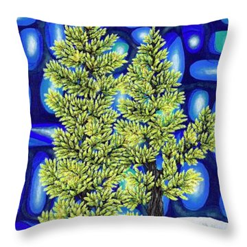 Larch Dreams 3 Throw Pillow