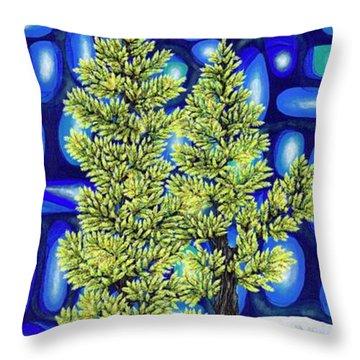 Larch Dreams 3 Throw Pillow