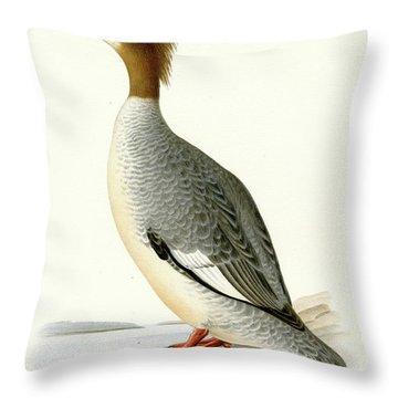 Merganser Throw Pillows