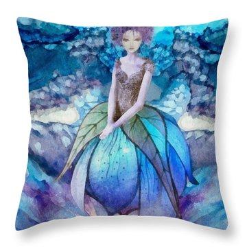 Larmina Throw Pillow by Mo T