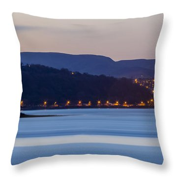 Larne From Magheramorne Throw Pillow