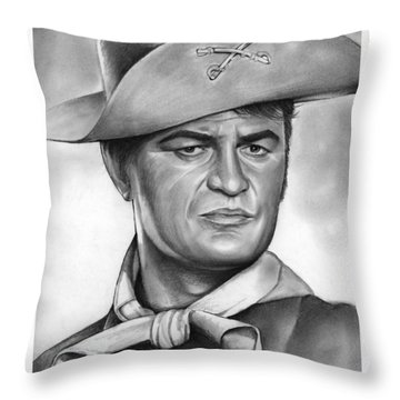 Larry Storch Throw Pillow
