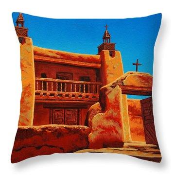 Las Trampas Throw Pillow