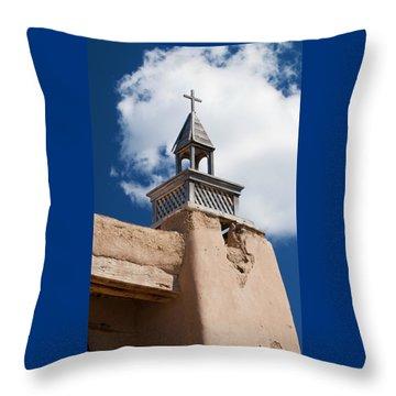 Las Trampas Church Throw Pillow