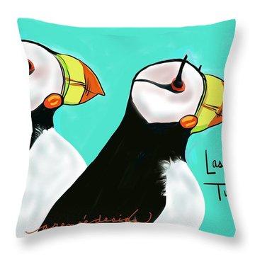 Las Tucanos Throw Pillow