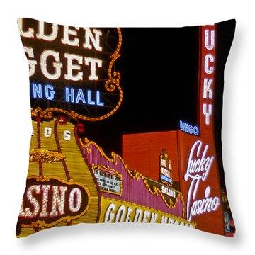 Las Vegas 1964  I Throw Pillow