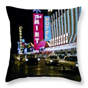 Las Vegas 1964  II Throw Pillow
