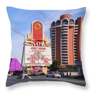 Las Vegas 1994 #1 Throw Pillow