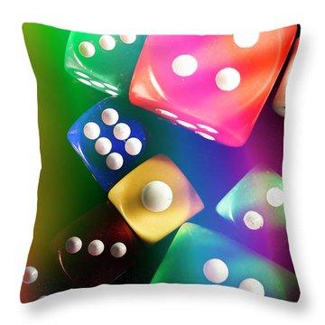 Las Vegas Art Throw Pillow