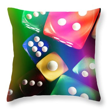 Las Vegas Art Throw Pillow